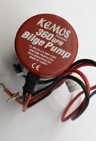 Bilge Pump 360 GPH 12 Volt