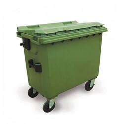 - 770 litre plastik çöp konteyneri çöp kutusu