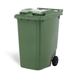- 80 litre Plastik çöp konteyneri