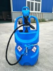 Kemos - AdBlue Mobil Tank ile Elektrikli Varil Pompası 78 Lt. AD7803 Otomatik Pompa Seti 220 Volt