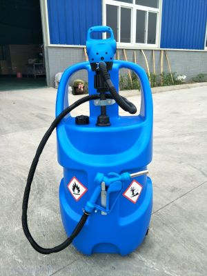 AdBlue Mobil Tank ile Elektrikli Varil Pompası 78 Lt. AD7803 Otomatik Pompa Seti 220 Volt
