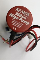 Bilge Pump 360 GPH 12 Volt Sintine Pompası Rule Pump