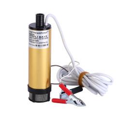 Delice 12 Volt Alüminyum Dalgıç Tipi Sıvı Aktarma Seti(Pompa + Hortum) - Thumbnail
