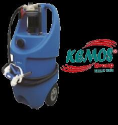 Kemos - Dezenfektan Tankı ve Kimyasal Sıvı Transfer Pompası 12 Volt Dc Pump set