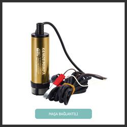 Kızılırmak 12 Volt Alüminyum Dalgıç Tipi Sıvı Aktarma Pompası(Filtreli) - Thumbnail