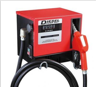 KM-JYB-60A 220 Volt Otomatik Tabancalı Mazot ve Sıvı Aktarma Pompa Seti