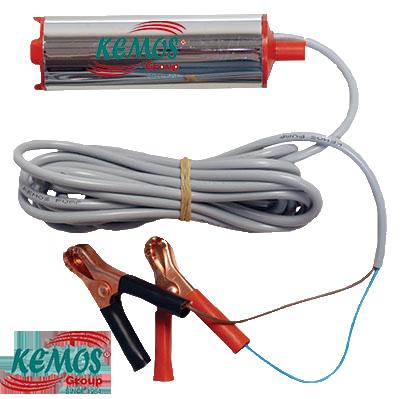 Rich 12 Volt Krom Dalgıç Tipi Sıvı Aktarma Pompası