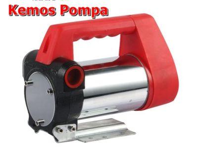 Mazot Transfer Pompası Çarklı Sistem 24 VDC dk/40 litre kemos pompa dünyası