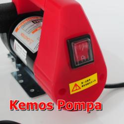 Mazot Transfer Pompası Çarklı Sistem 24 VDC dk/40 litre kemos pompa dünyası - Thumbnail