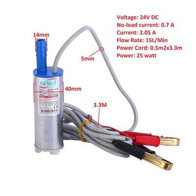 Rich 24 Volt Krom Dalgıç Tipi Sıvı Aktarma Pompası