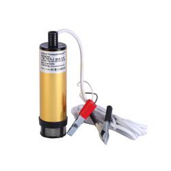KEMOS - Meriç 24 Volt Alüminyum Dalgıç Tipi Sıvı Aktarma Pompası(Filtreli)