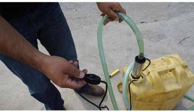 Meriç 24 Volt Alüminyum Dalgıç Tipi Sıvı Aktarma Seti(Pompa + Plastik Sıvı Transfer Tabancası)