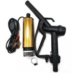 KEMOS - Meriç 24 Volt Alüminyum Dalgıç Tipi Sıvı Aktarma Seti(Pompa + Plastik Sıvı Transfer Tabancası)
