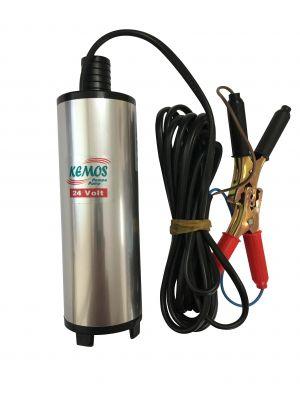 Sakarya 12 Volt Alüminyum Dalgıç Tipi Sıvı Aktarma Seti(Dalgıç Pompa + Hortum)