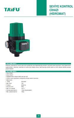 Seviye Kontrol cihazi (Hidromat) T26