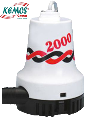 Sintine 2000 12 Volt pump TMC Tipi