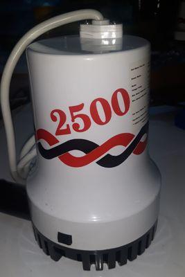 Sintine Pompası 2500 GPH 12 Volt kemos tmc tipi sintine pompasi 2500