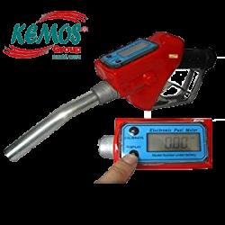 Nil Vakumlu Dijital Sayaçlı Mazot Tabancası 12 volt Set - Thumbnail