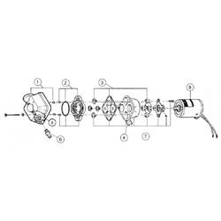 Whaleflo-Sailflo 24v 12.5litre 35Psi 2.4bar Hidrofor Pompası - Thumbnail